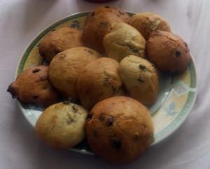 Cookies moelleux banane chocolat recette iterroir - Recette cookies chocolat moelleux ...